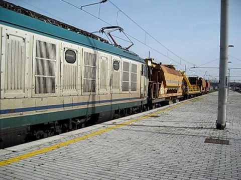 E652 + materiale treno cantiere Salcef