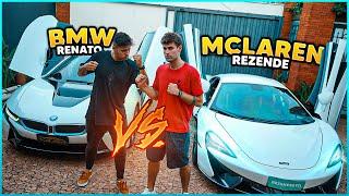 MCLAREN 540C VS BMW I8 ( REZENDE VS RENATO GARCIA ) [ REZENDE EVIL ]
