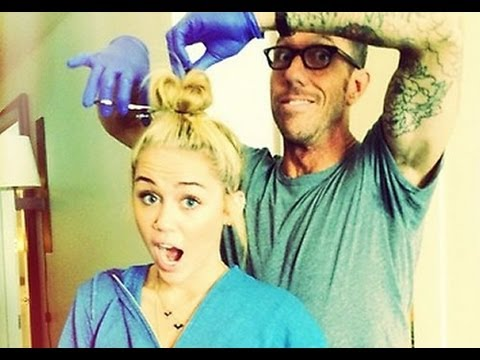 Miley Cyrus Chops Her Hair Off!!!
