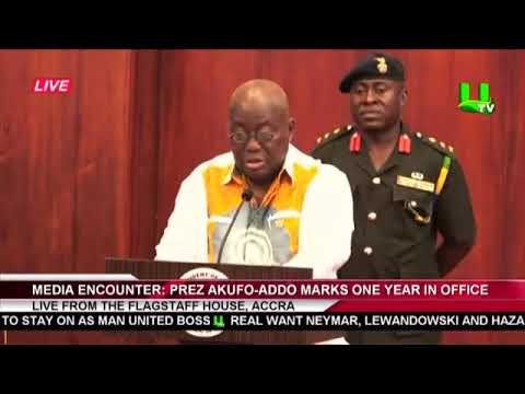 FULL: Prez. Akufo-Addo's Second Media Encounter