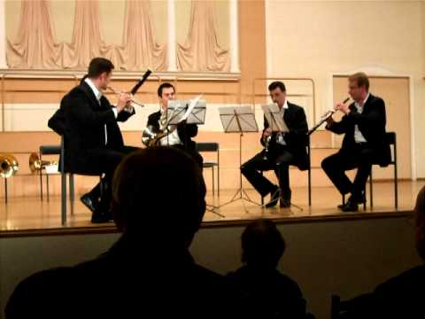 """Schnittke: """"Suite In The Old Style"""" For Woodwind Quintet"""