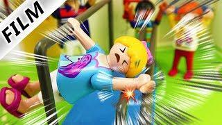 Playmobil Film Deutsch UNFALL AM RECK IM SPORTUNTERRICHT! ARM GEBROCHEN VON HANNAH? Familie Vogel