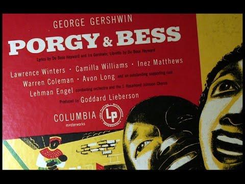 Gershwin, 1951: Porgy and Bess - Overture, Summertime - Original 1951 Columbia LP
