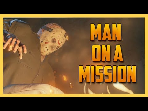 Jason Voorhees. Man on a Mission. - Friday the 13th The Game