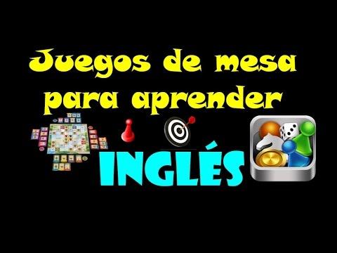 Juegos De Mesa Para Aprender Ensenar Ingles Youtube