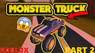 (ROBLOX) Grinding On Jailbreak For Monster Truck! (PART 2!)