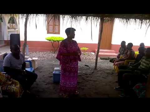 BIOMIT AND HUMUSOL ORGANIC FERTILIZER'S APPLICATION DEMO IN GHANA
