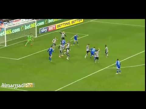 Assist Marouane Chamakh Vs Newcastle United / Chamiponship /05.11.2016 HD