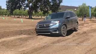 2019 Honda Pilot Review: Watch the three row crossover tackle an off-road course