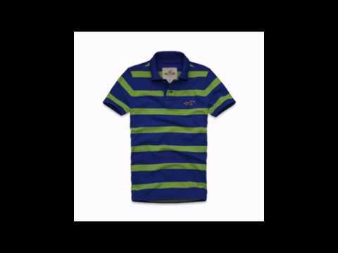 Camisetas Polo Listradas Hollister Co. So Aqui Orlando Direct Importados