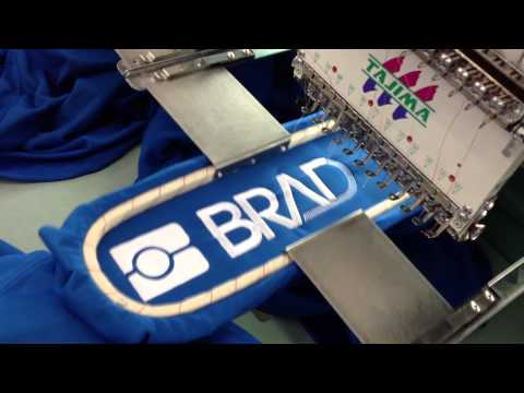 Customized Embroidery Textile on sleeves by www.aremitaly.com