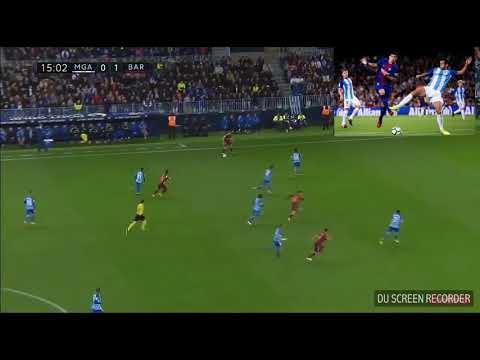MALAGA - BARCELLONA 0-2 ALL GOALS & AMPIA SINTESI