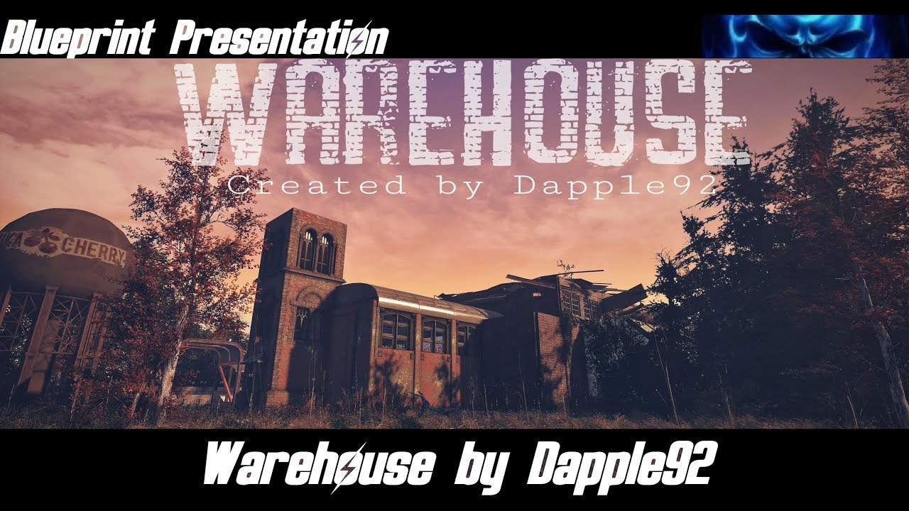 Warehouse by dapple92 blueprint presentation fallout 4 its youtube uninterrupted malvernweather Image collections
