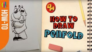 Danger Mouse | How to draw PENFOLD | CBBC