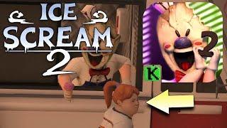 Разбираем Трейлер 2 Части мороженщика! Ice Scream Episode 2  Horror Neighborhood