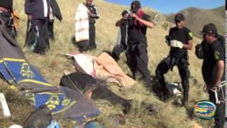 HUMILDES TRABAJADORES TARMEÑOS COSECHADORES DE MACA PERECIERON EN ACCIDENTE parte 2