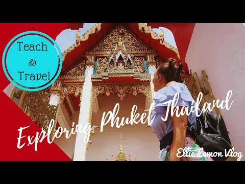 Thailand Phuket – Exploring Phuket!  Beaches, Temples & Bike Accidents