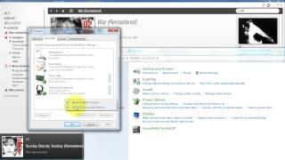 Opptak av lyd fra høyttaler og mikrofon i CamStudio (Windows 7)