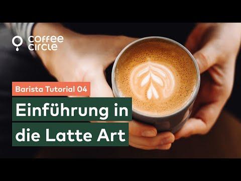 Barista Tutorial: 4. Einführung in die Latte Art