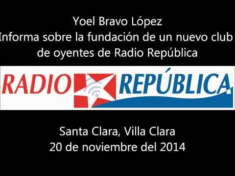 Fundan nuevo Club de oyentes de Radio República en Santa Clara