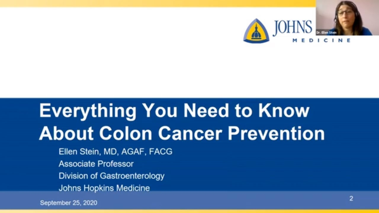 Everything You Need To Know About Colon Cancer Prevention Youtube