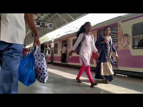 Mumbai Local Train Ambernath Station Cinematic Videos Mumbai Max.