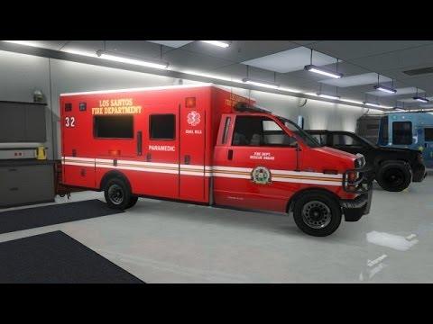Gta 5 comment sauvegarder une ambulance dans son garage for W garage assurance