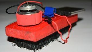cara membuat robot pembersih lantai sederhana