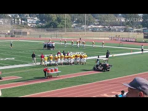 Oceanview High School Frosh Football Game 9 27 18