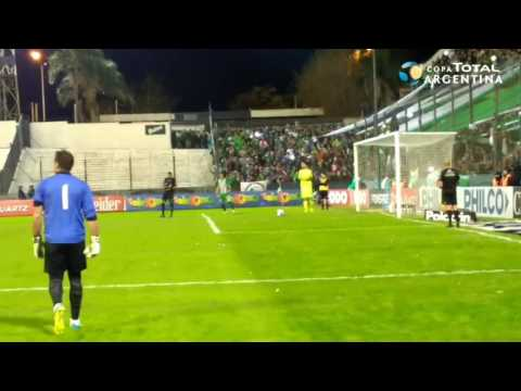 Los penales de Independiente 0 (5) - Camioneros 0 (4)