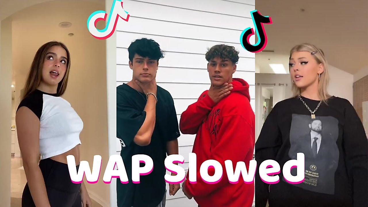WAP (Slowed) - TikTok Dance Compilation