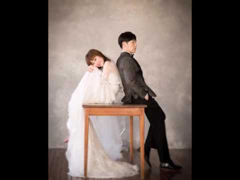 Comedian Bae Seul Gi and her husband-to-be are all smiles in wedding photo shoot