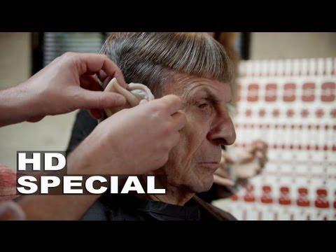 Star Trek Into Darkness: Turning Leonard Nimoy Into Spock Blu-ray Bonus Feature