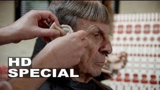 Star Trek Into Darkness: Turning Leonard Nimoy into Spock Blu-ray Bonus Feature