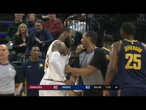 LeBron James and Lance Stephenson Going At It Again