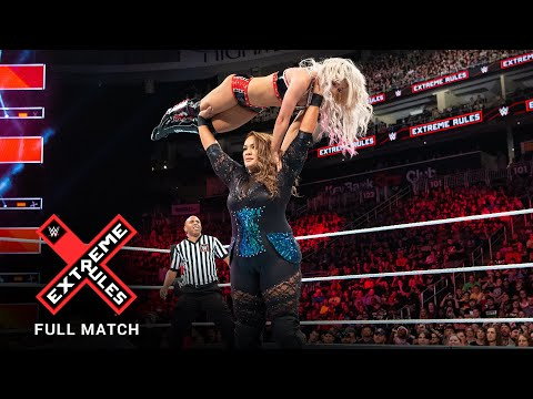 FULL MATCH - Alexa Bliss vs. Nia Jax - Raw Women's Title Extreme Rules Match: WWE Extreme Rules 2018