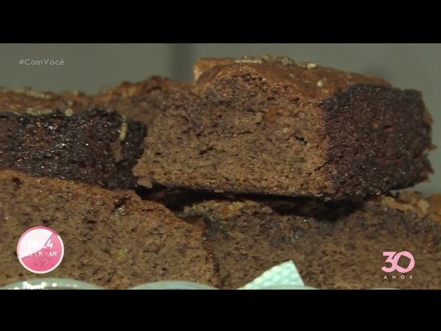 Tá na Mesa: brownie da Luana Clara - Com Você