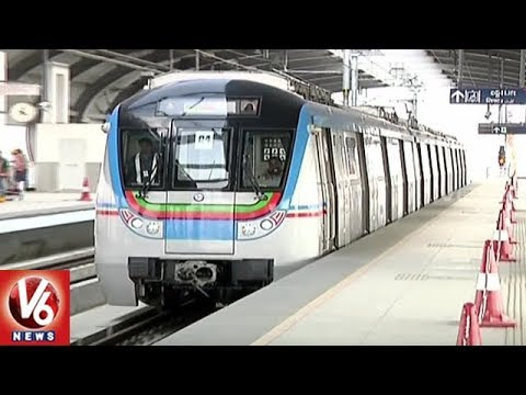 Hyderabad Metro Rail Authorities Speedup Works | V6 News