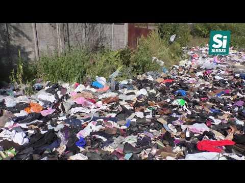 В одному з мікрорайонів Ужгорода утворилося стихійне сміттєзвалище