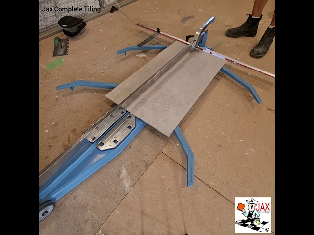 How To Cut Large Tiles On A Sigma ART 127 cm Tile Cutter