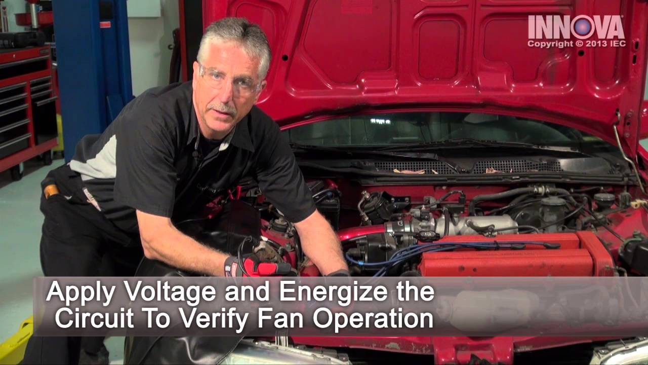 how to diagnose an overheating condition radiator cooling fan 1999 acura integra [ 1280 x 720 Pixel ]