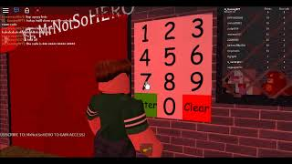 ROBLOX SUBSCRIBER ROOM CODE(SCARY ELEVATOR)