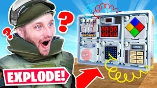 DEFUSING a REAL BOMB (Keep Talking and Nobody Explodes)
