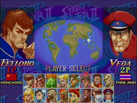 ハイパーハイパーおやじスト2X大会 180212(Hyper Street Fighter II -The Anniversary Edition-)