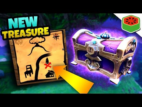 MYSTERIOUS *NEW* TREASURE MAP! | Fortnite Battle Royale