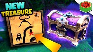 MYSTERIOUS *NEW* TREASURE MAP! | Fortnite Battle Royale