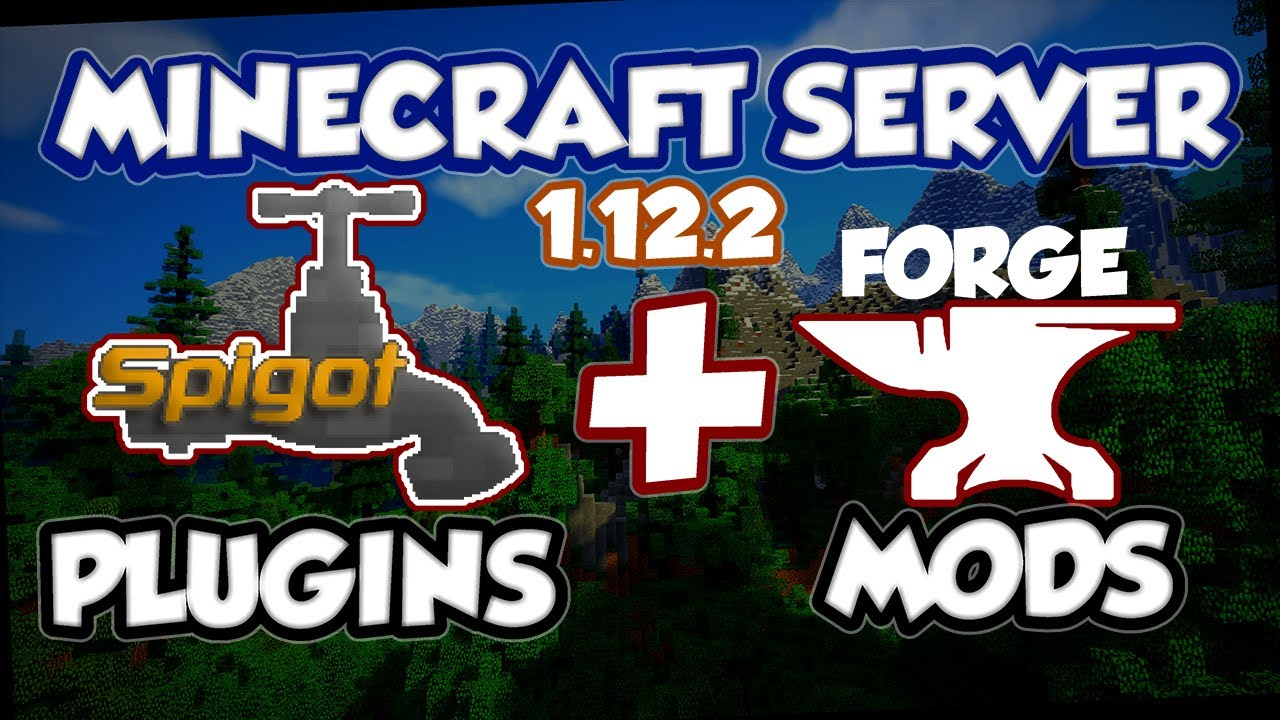 Minecraft Server Mods and Plugins - Spigot and Forge (no sponge)