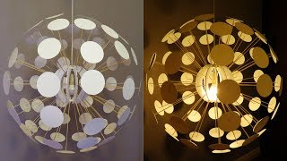 Pendant Lamp DIY (Pilea) - Designer Lighting Challenge - EzyCraft