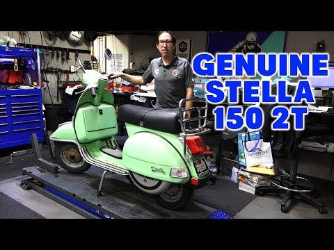 2003 Genuine Stella 150 2-Stroke Scooter Review