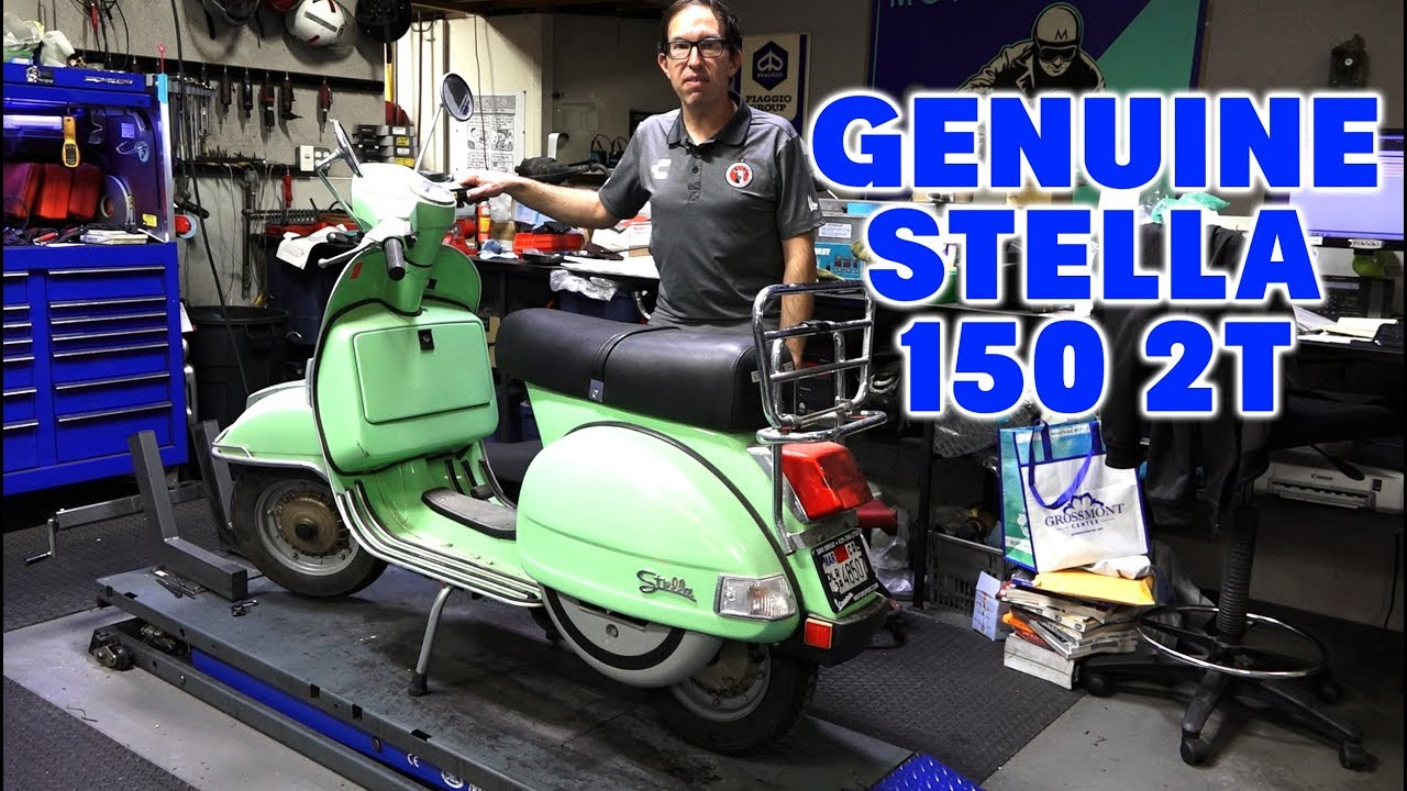 2003 Genuine Stella 150 2-Stroke Scooter Review